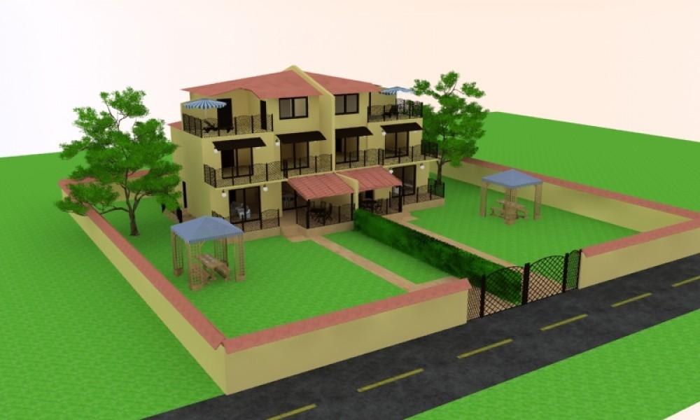 Участок с проектом дома с.Ласкарево